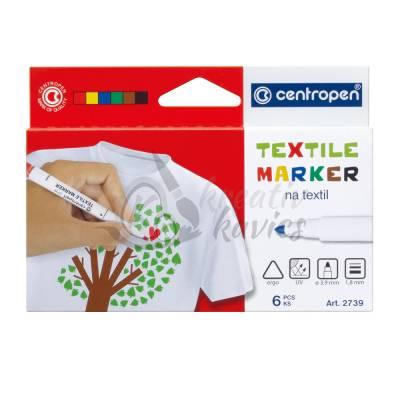 Centropen 6 db-os textilfilc készlet