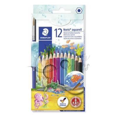 Staedtler Noris Club akvarell színes ceruza készlet 12 db-os