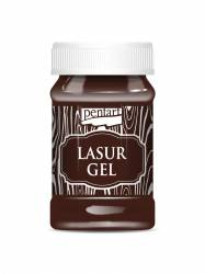 Lazúrgél 100 ml gesztenye