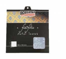 Füstfólia ezüst 14x14 cm 5 lap/csom