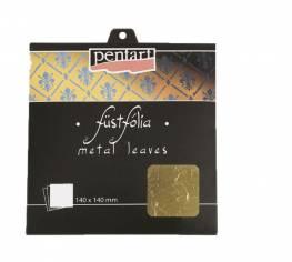 Füstfólia arany2 14x14 cm 5 lap/cs