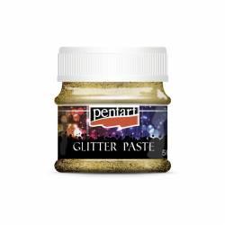 Glitterpaszta közepes 50 ml arany