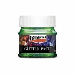 Glitterpaszta finom 50 ml zöld