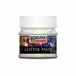 Glitterpaszta finom 50 ml szivárvány