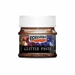Glitterpaszta finom 50 ml réz