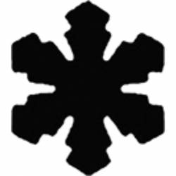 Formalyukasztó 50 mm, Hópehely