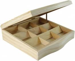 Díszdoboz négyzet alakú 24 x 24 x 7,5 cm