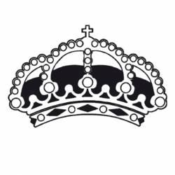 Akril pecsételő 5 x 7 cm Crown