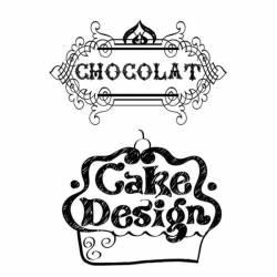 Akril pecsételő 7 x 11 cm Cake design