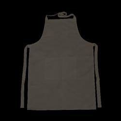 Kötény zsebbel 70x75 cm, fekete
