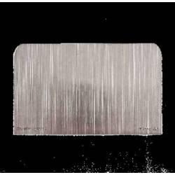 Fém Paszta lehúzó, 17 x 7 cm