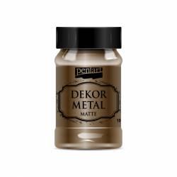Dekormetál matt 100 ml csokoládé