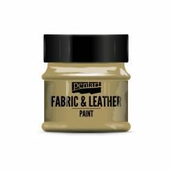 Textil és bőrfesték 50 ml csillogó arany