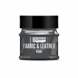 Textil és bőrfesték 50 ml csillogó grafit
