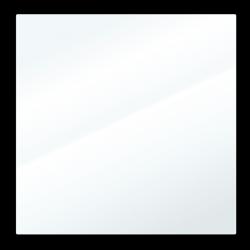 Átlátszó lap 38 x 38 cm