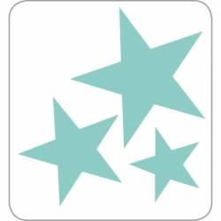Formavágó - csillagok