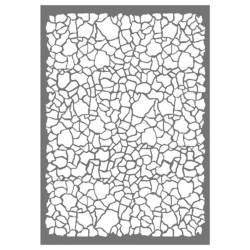 Stencil G méret 21x29,7 cm - Repedések