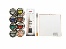 Alap üvegfestő alkotócsomag